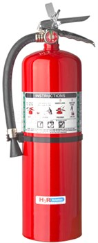 H3R Aviation Model 398 Red 15.50 lb UL Rating 2A:10B:C Halotron® 1 Flight Line / Ramp Fire Extinguisher