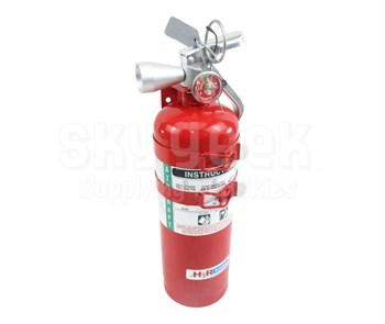 H3R Aviation Model B394TS Red 5.50 lb UL Rating 5B:C Halotron® 1 Cockpit/Cabin Fire Extinguisher
