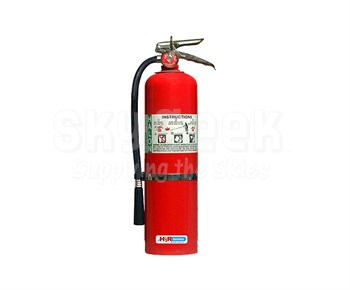 H3R Aviation Model B371 Red 13.0 lb UL Rating 2A:40B:C Halon 1211 Flight line/Ramp Fire Extinguisher