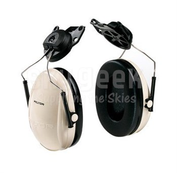 3M™ H6P3E/V PELTOR™ Optime™ 95 Beige/Black 21 db Cap-Mount Earmuff