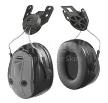 3M™ H7P3E-PTL PELTOR™ Optime™ 101 Black/Gray 24 db Hard Hat Attached Earmuff