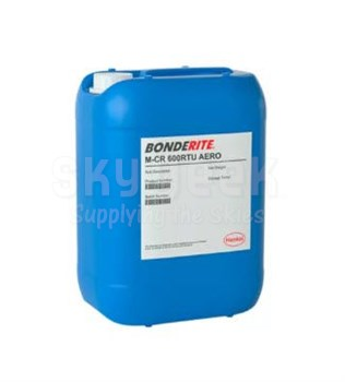Henkel 594094 BONDERITE® M-CR 600™ AERO Light Metals Conversion Coating - 5 Gallon Pail