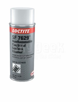 Henkel 1174633 LOCTITE® SF 7629™ Colorless Nonflammable Electrical Contact Cleaner - 340 Gram (12 oz) Aerosol Can