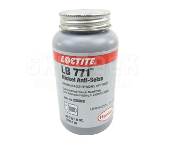 Henkel 77124 LOCTITE® LB 771™ Nickel Anti-Seize Compound - 226.8 Gram (8 oz) Brush-Top Can