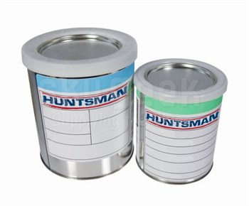 Huntsman 2895108 Epibond® 1337-A1/9615-A Gray Huntsman Standard Spec General-Purpose Epoxy Adhesive - Quart Kit