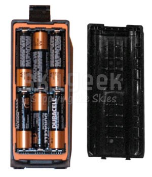 ICOM BP-261 6 AA Battery Case