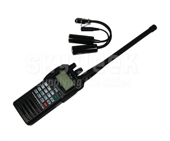 ICOM IC-A6-220 Handheld Air Band Transceiver Radio - 8.33kHz/220-Volt Version