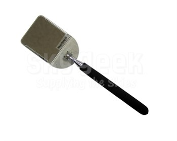 "Klenk Tools DA76510 Stainless Steel Shaft 11.6"" x 4.1"" Magnifying Telescoping Inspection Mirror"
