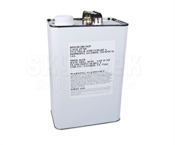 Military Specification TT-I-735A Grade A 90-100% Isopropyl Alcohol - Gallon Can