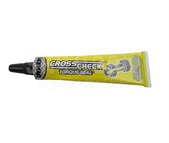 ITW ProBrands 83317 Cross-Check™ Yellow Tamper Proof Torque Seal - 1 oz Tube