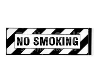 "J & M Aircraft JM-015 ""NO SMOKING"" Placard"