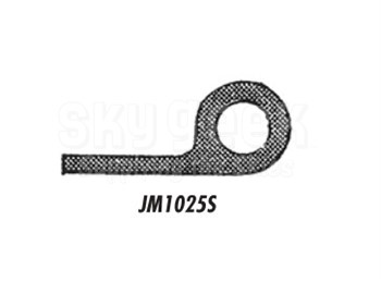 J & M Aircraft JM1025S Piper Rubber Baggage Door Seal - 25' Roll