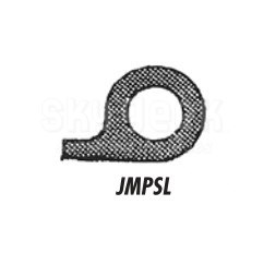 J & M Aircraft JMPSL Black Rubber Seal Door - Priced by Foot