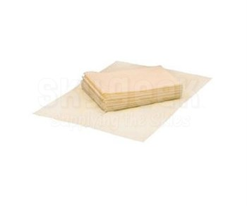 "JETTASK™ DU-N1000 Yellow 12"" x 17"" Quarter Fold Dust Pads - 10 Ea - 40 Wipe/Pack"