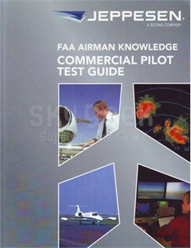 8affc6a2ebb Jeppesen 10001389 FAA Airmen Knowledge Commercial Pilot Test Guide Book at  SkyGeek.com