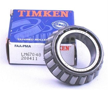 Timken LM67048 FAA-PMA Tapered Roller Aircraft Bearing
