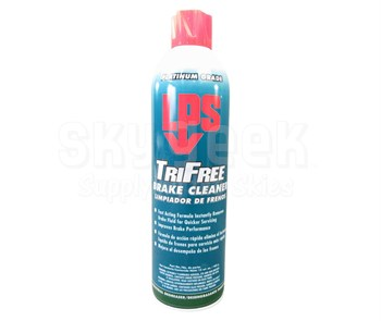 LPS® 03620 Tri-Free Clear Heavy-Duty Solvent Brake Cleaner - 15 oz Aerosol Can