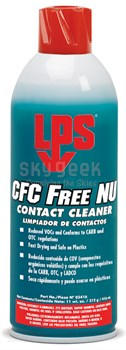 LPS® 05416 CFC Free NU Contact Cleaner - 11 oz Aerosol Can
