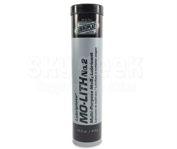 LUBRIPLATE® L0180-098 Mo-Lith No. 2 Steel Gray NLGI 2 Lithium Grease - 14.5 oz (411 Gram) Cartridge