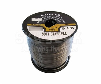 Military Standard MS20995C20 Stainless Steel 0.020 Diameter Safety Wire - 25 lb Roll