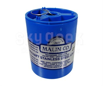 Military Standard MS20995C30 Stainless Steel 0.030 Diameter Safety Wire - 1 lb Roll