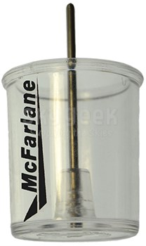 McFarlane Aviation MCCCA-39680 Clear Plastic Aircraft Fuel Testing Cup