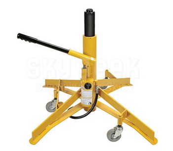 "Meyer Hydraulic A421 Aircraft Jack - 6,000 Lbs - 21"" to 38"""