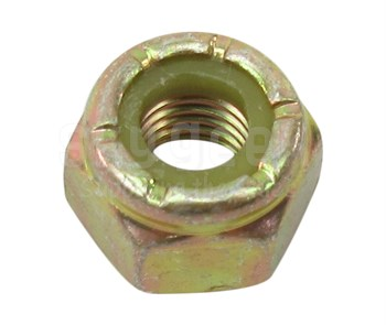 Military Standard MS21044N4 Steel Nut, Self-Locking, Hexagon