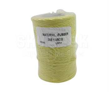 Military Specification A-A-52084-C-2 Natural Nomex®/Synthetic Rubber Finish Tape, Lacing & Tying Cord - 250 Yard Spool