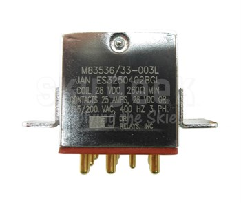 Military Specification M83536/33-003L Relay, Electromagnetic
