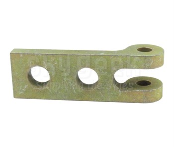Military Standard MS14108-15 Steel Leaf, Butt Hinge