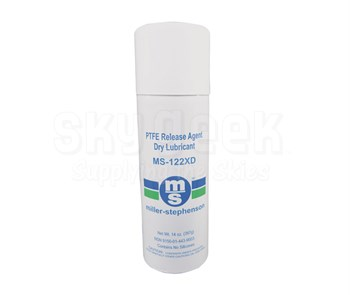 Miller-Stephenson MS-122XD PTFE Release Agent Dry Lubricant - 14 oz Aerosol Can
