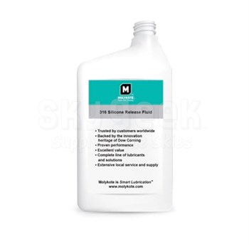 Dow Corning Molykote® 316 Clear Silicone Release Fluid - 355 Gram Bottle