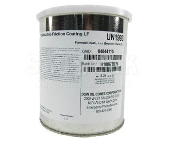 Dow Corning Molykote® 3400A Gray Anti-Friction Coating - 1 Kg Can