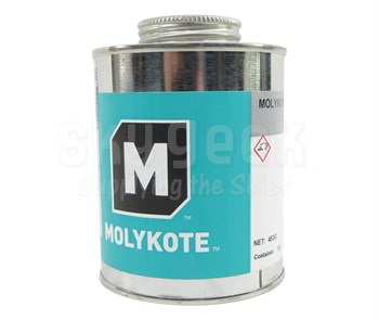 DOW® 2899680 MOLYKOTE® P 37 Gray Ultra Pure High Temperature Paste - 453 Gram Can