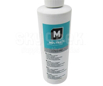 Dow Corning Molykote® Z Powder Gray Solid Lubricant - 283 Gram Bottle