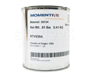 Momentive™ RTV-630 Blue Two Part Silicone Rubber Compound - 1 lb Kit