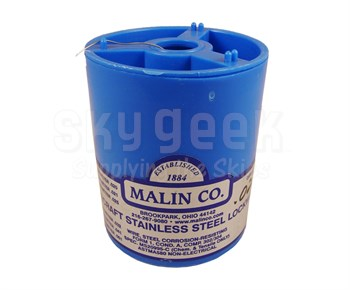 Military Standard MS20995C22 Stainless Steel 0.022 Diameter Safety Wire - 1 lb Roll
