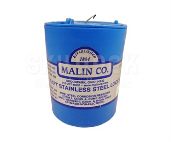 Military Standard MS20995C40 Stainless Steel 0.040 Diameter Safety Wire - 1 lb Roll