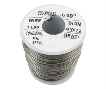 """Military Standard MS20995N40 Inconel 0.040"""" Diameter Safety Wire (1 lb Roll)"""
