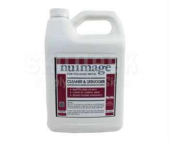 Nuvite PC23001GL NuImage Non-Fogging Cleaner & Debugger Polished Metal Cleaner - Gallon Jug