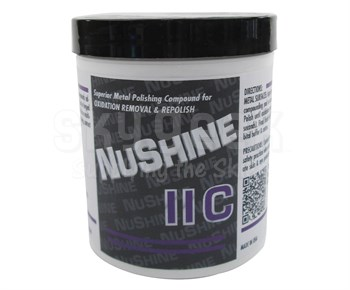 Nuvite PC22061LB Nushine II Grade C Oxidation Removal & Repolish Metal Polishing Compound - 1 lb Jar
