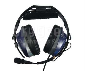 58a41eba908 Pilot USA PA-1771T ANR Liberty Series Aircraft Headset with Cell Phone  Adapter
