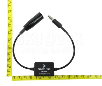Pilot USA PA-88H Impedance Converter - Low (Military) to High (Helicopter)