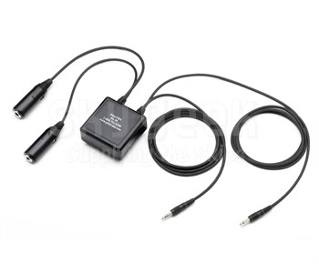 Pilot USA PA-96 General Aviation Headset Plug to Personal Computer Plug Adapter