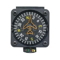 Precision Aviation PAI-700 5-Volt Vertical Card Compass