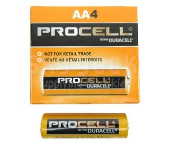 DURACELL® PROCELL® PC1500 Alkaline Battery - AA Size