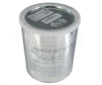 Peerco #321 Light Brown Adhesive Remover - Gallon Can