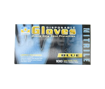 Permatex 09185 Disposable Nitrile Gloves - 100 Ea. Box - Size Large