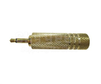 """Pilot Products JB-11DLM Mono Microphone Jack Adapter - .25"""" to 1/8""""(3.5mm)"""